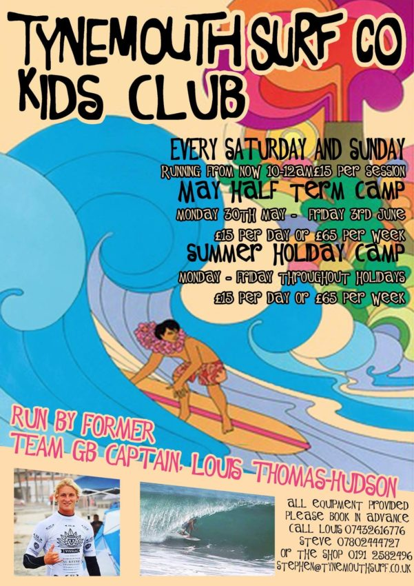 Kids Summer Surf Club