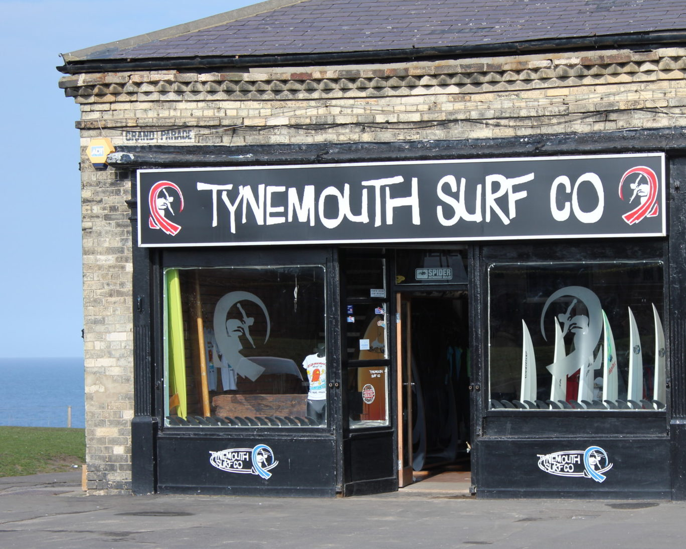 Tynemouth Surf Co Shopfront