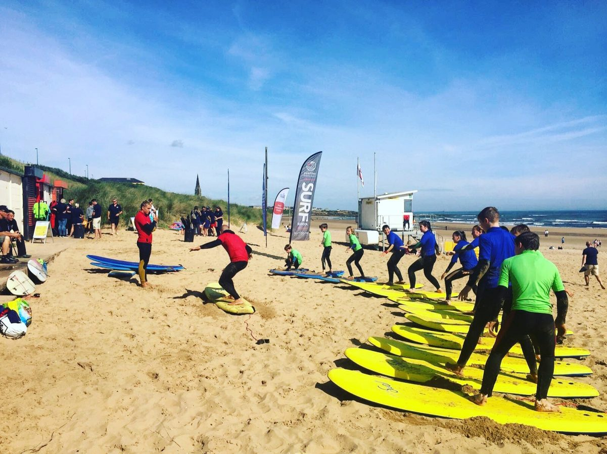 548c9d8c3e2b At Tynemouth Surf Co Surf School we provide an informative and fun  introduction to surfing for all ages with an emphasis on beach safety and  respect for the ...
