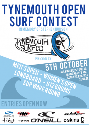 Tynemouth Open 2019 Poster